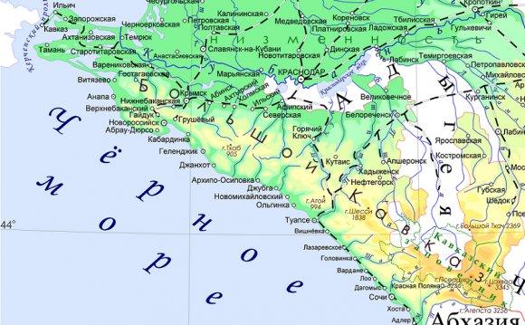 Пески побережья Краснодарского