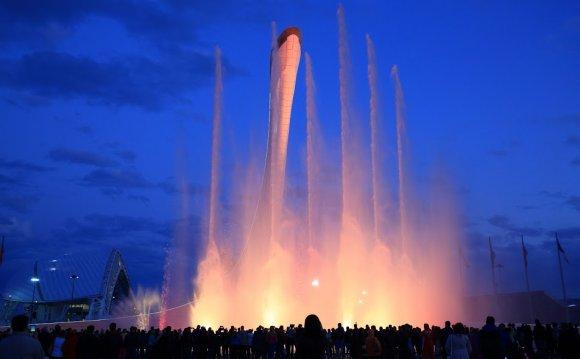 фото поющие фонтаны